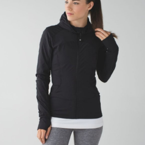 Lululemon Black In Flux Jacket